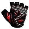 KOBO Weightlifting Gym Gloves (CG-03),  Black  Large