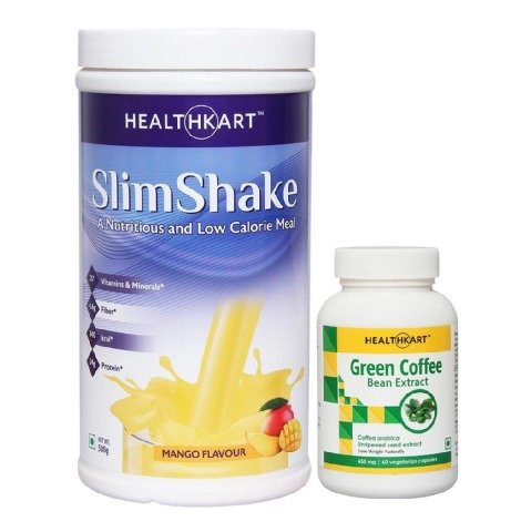 SlimShake and Green Coffee Bean Extract Combo