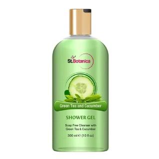 St.Botanica Luxury Shower Gel,  300 ml  Green Tea & Cucumber