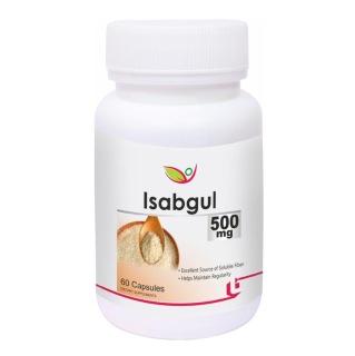 Biotrex Isabgul (500 mg),  60 capsules