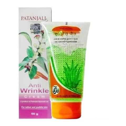 Patanjali Aloe Vera Gel + Anti Wrinkle Cream Combo
