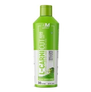 1 - Big Muscles L-Carnicut Liquid 3200,  450 ml  Smash Green Apple