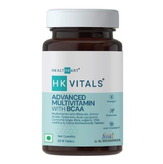 2 - HealthKart HK Vitals Advanced Multivitamin with BCAA,  60 tablet(s)  Unflavoured