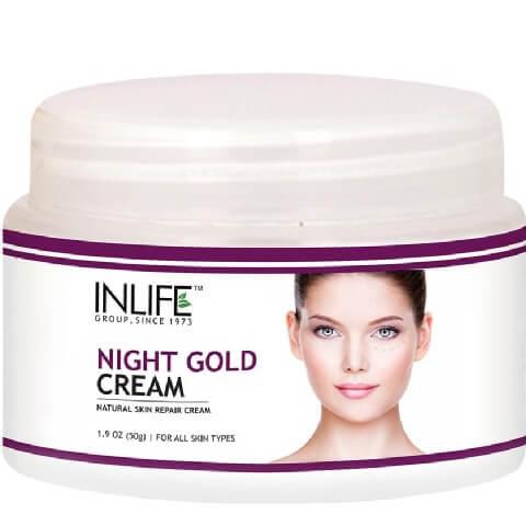INLIFE Night Gold Cream,  50 g  Fairness