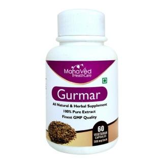 Mahaved Gurmar Extract,  60 capsules