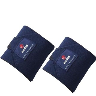 Omtex Wrist Support Pack of 2 Navy Blue Free Size