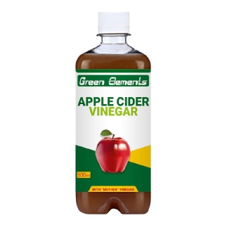 Green Elements Apple Cider Vinegar,  0.5 L  Unflavoured