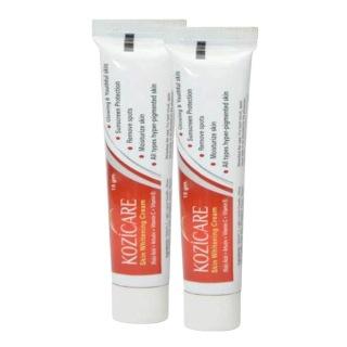 Healthvit Kozicare Skin Whitening (Pack of 2),  2 Piece(s)/Pack  Cream