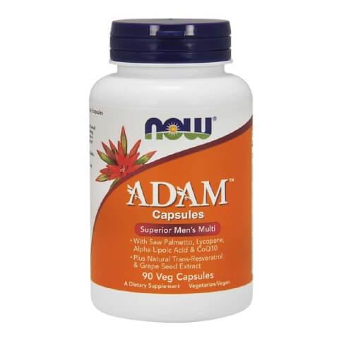 Now Adam Superior Men's Multi,  Unflavoured  90 capsules