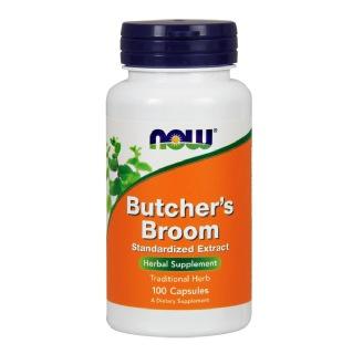 Now Butcher's Broom,  100 capsules