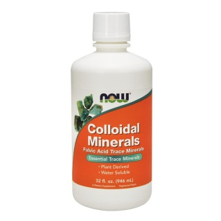 Now Colloidal Minerals Natural Raspberry,  0.946 L