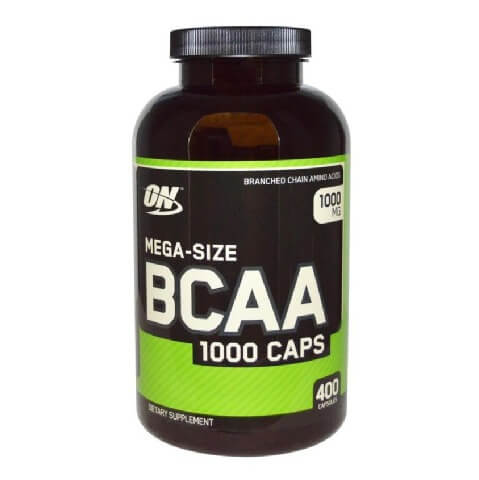 ON (Optimum Nutrition) BCAA,  400 capsules  Unflavoured