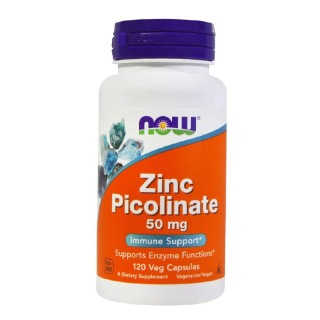 Now Zinc Picolinate (50 mg),  120 capsules