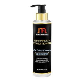 Man Arden Shampoo + Conditioner,  200 ml  The Island Emperor