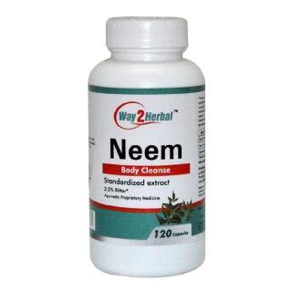 Way2Herbal Neem,  120 capsules