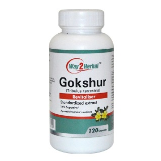 Way2Herbal Gokshur,  120 capsules