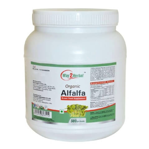 Way2Herbal Alfalfa,  0.500 kg