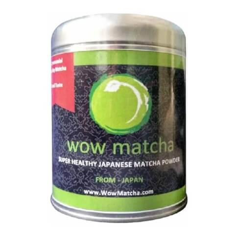 Wow Matcha Ceremonial Grade Matcha Powder,  100 g  Natural