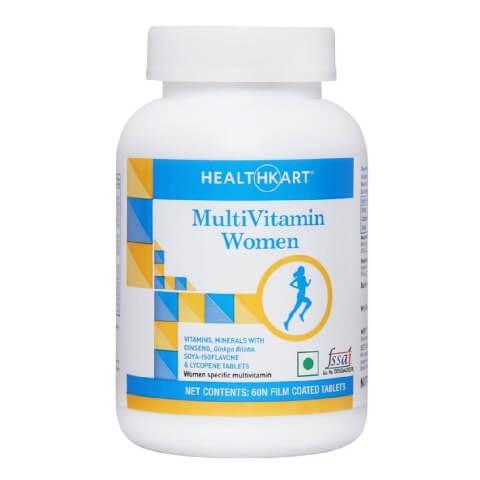HealthKart Multivitamin Women,  Unflavoured  60 tablet(s)