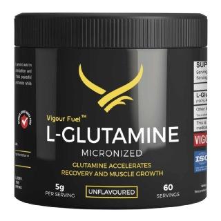 Vigour Fuel Glutamine Amino Acid,  0.67 lb  Unflavored