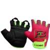 KOBO Ladies Exercise Weight Lifting Gym Gloves (WTG-11),  Pink  Large