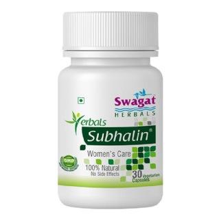 Swagat Herbals Subhalin,  30 capsules  Unflavoured