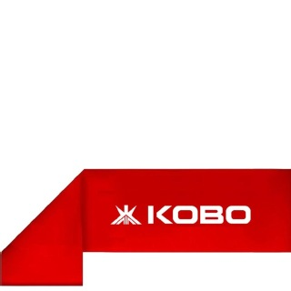 KOBO Resistance Exercise Fitness Loop Band (AC-37),  Red  222 Inch