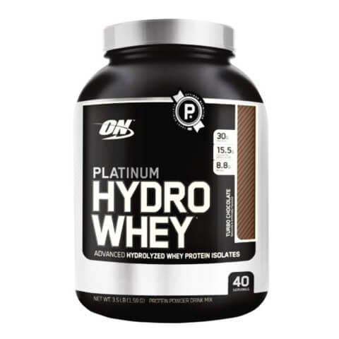 ON (Optimum Nutrition) Platinum Hydro Whey,  3.5 lb  Turbo Chocolate