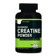 ON (Optimum Nutrition) Creatine Powder (Creapure),  Unflavored  0.6 Lb
