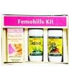 Herbal Hills Femohills Kit (Femohills, Shatavarihills,Methihills),  180 capsules