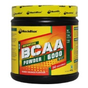 MuscleBlaze BCAA 6000,  0.88 lb  Tangy Orange