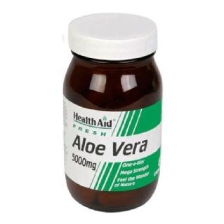 HealthAid Aloe Vera (5000 mg),  60 capsules