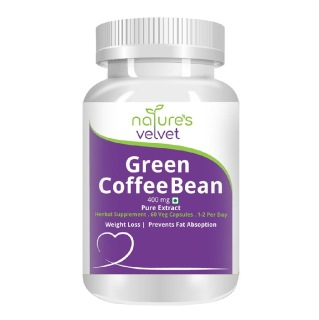 Natures Velvet Green Coffee Bean Pure Extract,  60 veggie capsule(s)