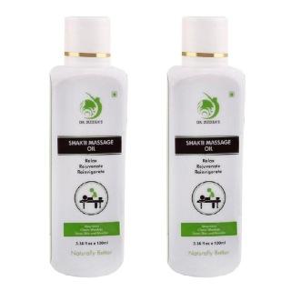 Dr. Sudha's Shakti Massage Oil,  100 ml  All Skin Type (Pack of 2)