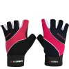 KOBO Ladies Gym Gloves (WTG-15),  Black & Pink  Large