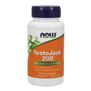 Now TestoJack 200,  60 capsules