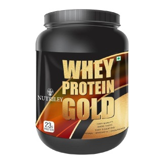Nutriley Whey Protein Gold,  2.2 lb  American Ice Cream