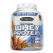 MuscleTech 100% Premium  Whey Protein Plus,  5 lb  Triple Chocolate