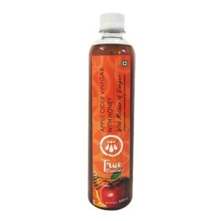 True Elements Apple Cider Vinegar,  0.5 L  Honey