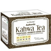 La Moshé Authentic Kahwa Tea,  25 sachets/pack  Natural