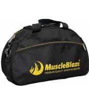 MuscleBlaze Gym Bag (Tum Nahi Samjhoge),  Black