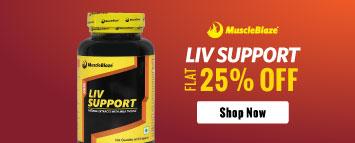 MuscleBlaze Liv Support