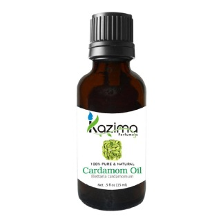 Kazima Cardamom Oil,  15 ml  100% Pure & Natural