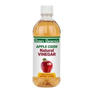 Green Elements Apple Cider Vinegar,  0.5 L  Natural