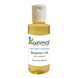 Kazima Bergamot Oil,  100 ml  100% Pure & Natural