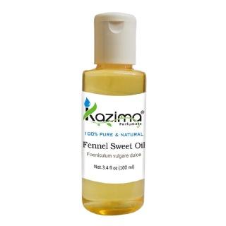 Kazima Fennel Sweet Oil,  100 ml  100% Pure & Natural
