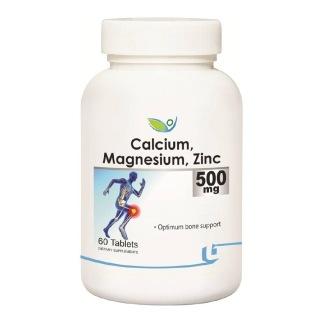 Biotrex Calcium Magnesium Zinc (500 mg),  60 tablet(s)  Unflavoured