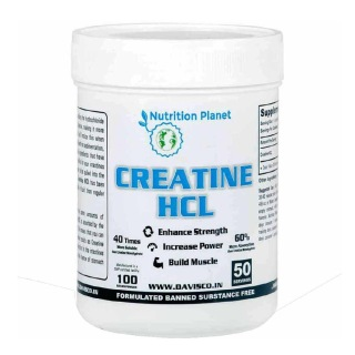 Nutrition Planet Creatine HCL,  Unflavoured  0.22 lb