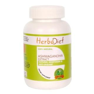 Herbadiet Ashwagandha Extract,  60 capsules