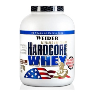 Weider Hardcore Whey Protein,  7 lb  Strawberry Lime
